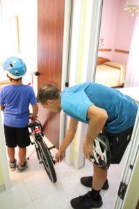 Bike Fiuggi Porta la tua bicicletta in camera