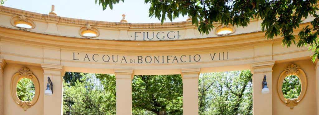Fonte Bonifacio VIII Fiuggi Terme